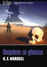 "cover of the Croatian edition of ""Backlot Requiem"" by G.E. Nordell"