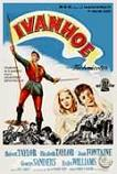 Ivanhoe 1952 movie poster starring Robert Taylor