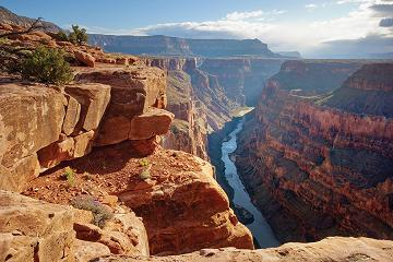 Grand Canyon National Park - from Toroweap Point, showing the Colorado River below