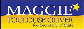 Bernalillo County Clerk Maggie Toulouse Oliver [2007-2014; Dem] is running for New Mexico Secretary of State in 2014