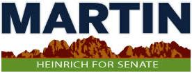 Martin Heinrich for U.S. Senate bumper sticker