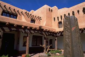 Santa Fe, New Mexico [est. 1610] and the Spanish Colonial Revival style of architecture
