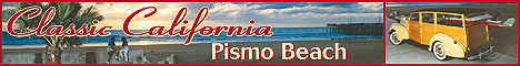 Pismo Beaches of California