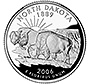 North Dakota state quarter of 2006