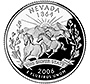Nevada state quarter of 2006