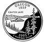 Oregon state quarter of 2005