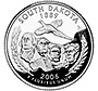 South Dakota state quarter of 2006