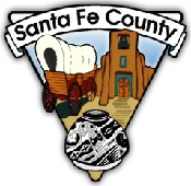 seal/shoulder patch of Santa Fe County, New Mexico